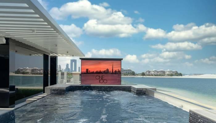 Swimming Pool in Dubai's Most Expensive Villa
