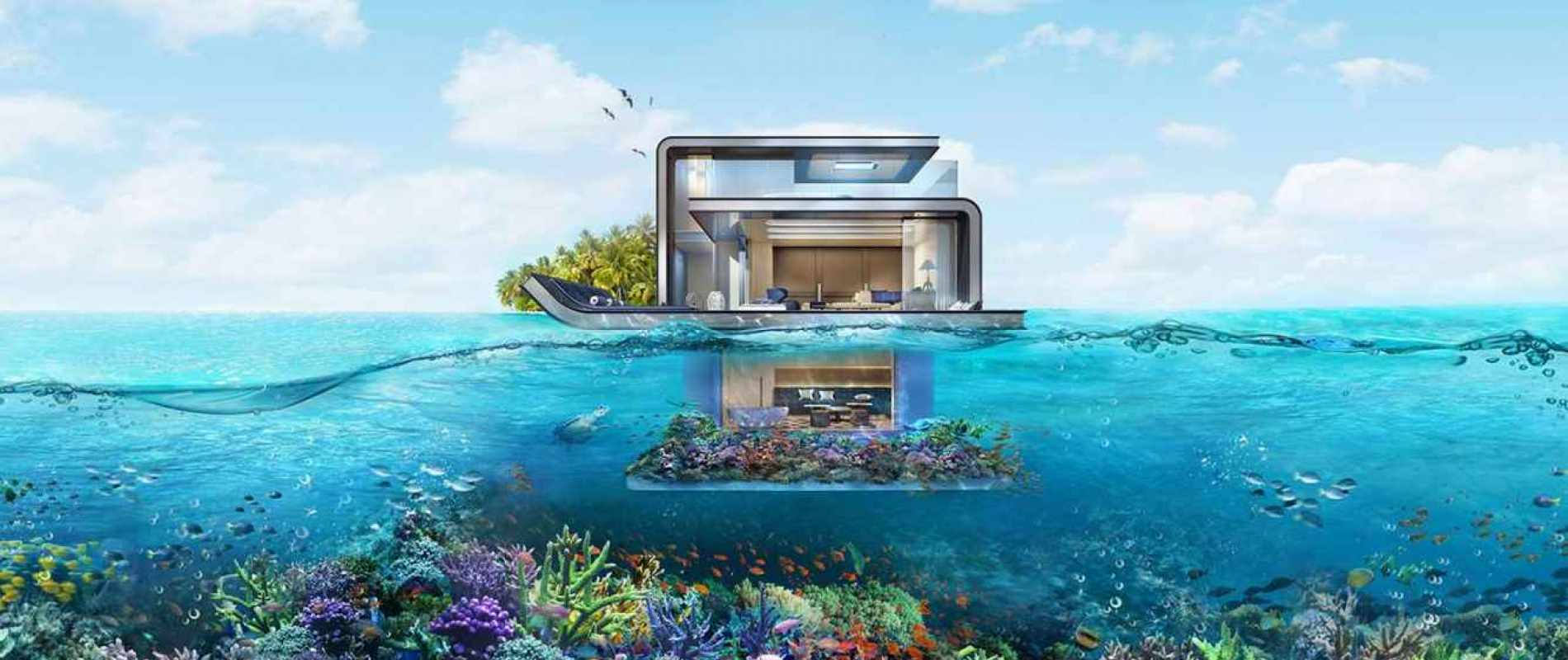 Luxury Property Dubai  - Property for sale in Floating Seahorse The World Islands