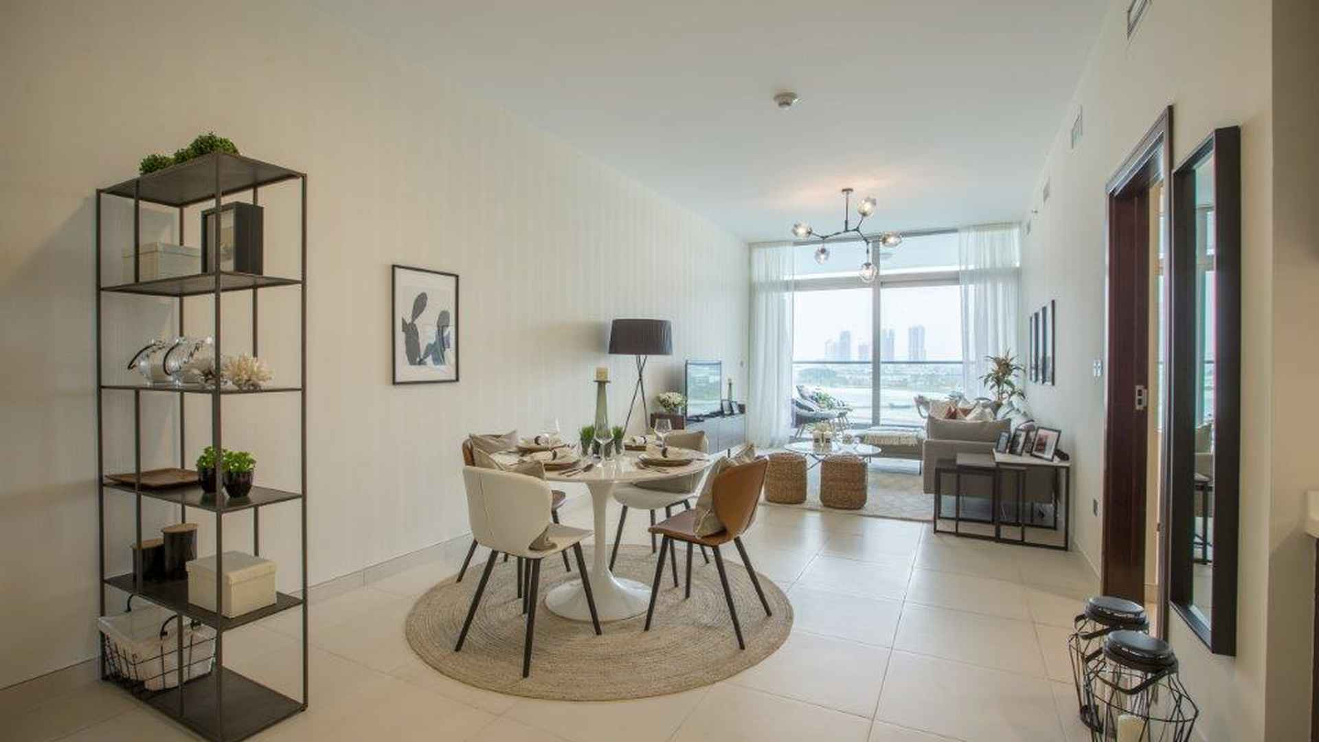 Living room in Azure Residences, Palm Jumeirah