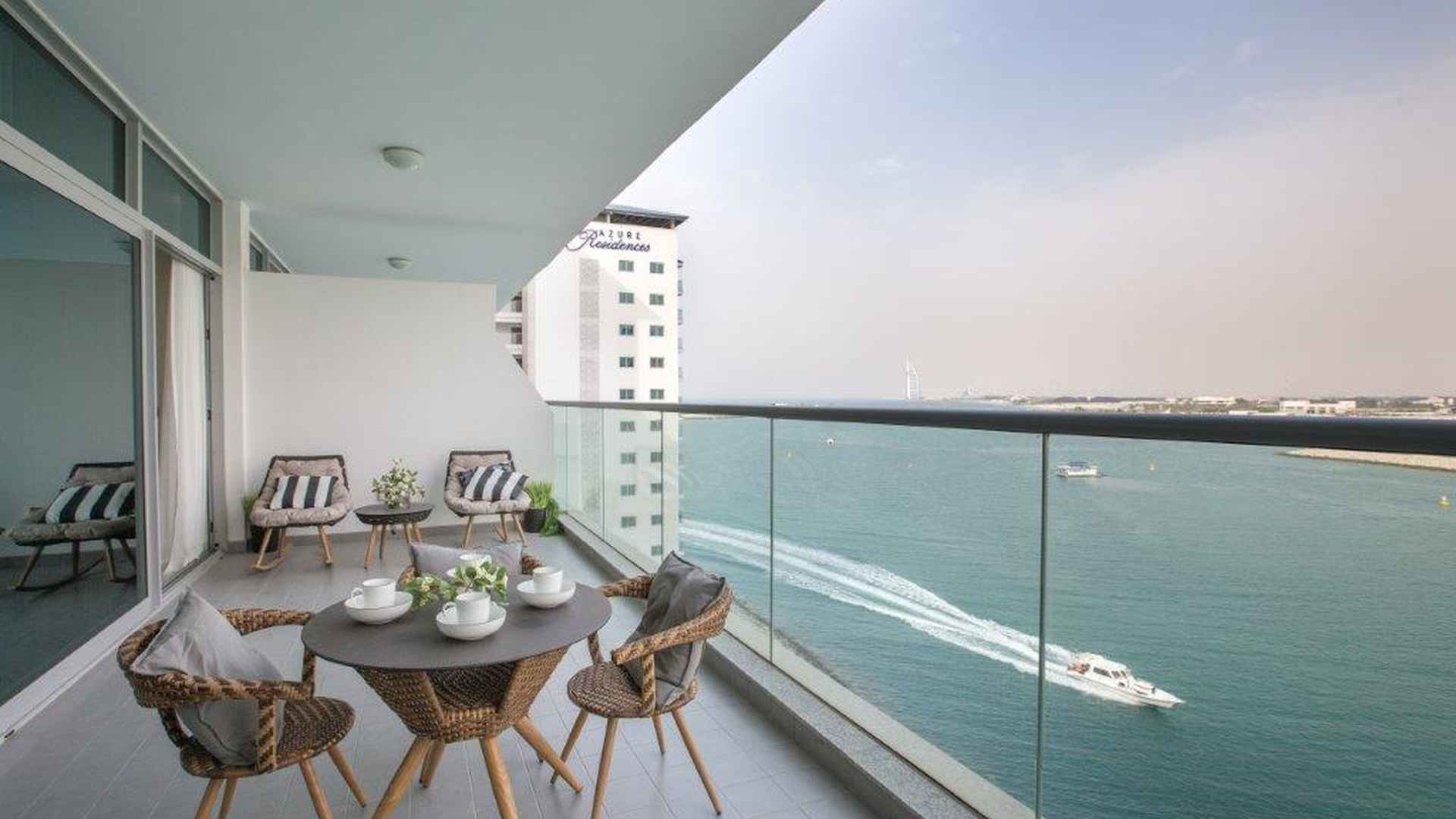 Water View from Azure Residences, Palm Jumeirah