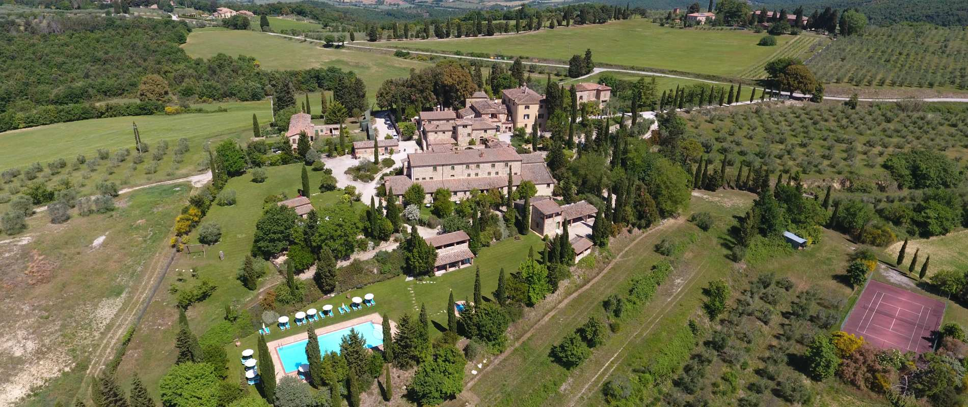 Luxury Property Italy  32 Bedroom Villa for sale in Borgo Bio Siena