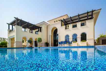 Inside an AED 87M Mansion At District One