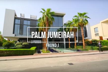 Property Tour - Uber Luxury Beachfront Mansion on Palm Jumeirah