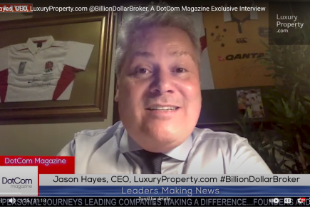 EIN News: Jason Hayes, Real Estate Expert, Zoom Interviewed for The DotCom Magazine