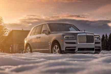 Roll-Royce Cullinan: The World's Most Exclusive SUV