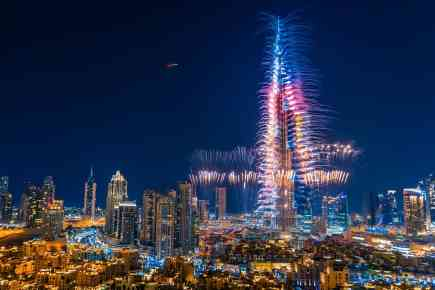 New Year's Eve 2018 in Dubai