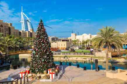 6 Great Ways to spend Christmas in Dubai