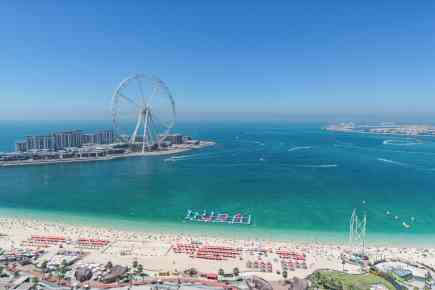 Keeping An Eye on Ain Dubai & Bluewaters Island