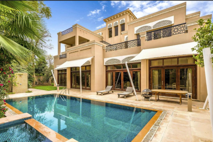 This Dh14m Dubai villa comes with a fruity outdoor flavour