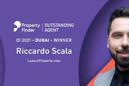 Riccardo Scala is Property Finder's Outstanding Agent for Q1 2021