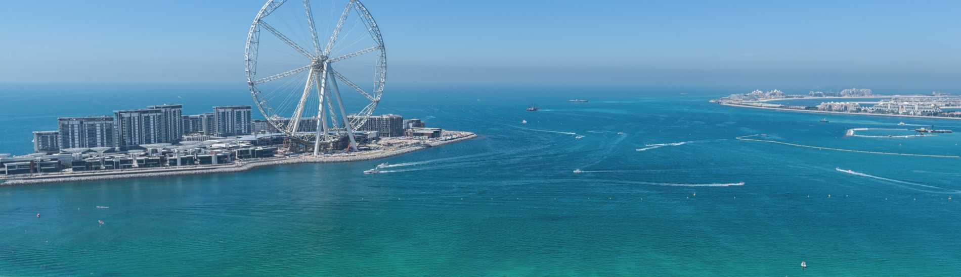 Keeping An Eye on Ain Dubai & Bluewaters Island