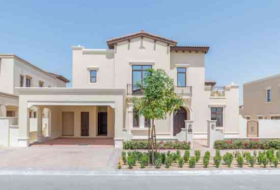 Luxury Property Dubai 5 Bedroom Villa for sale in Rosa Villas Arabian Ranches 2
