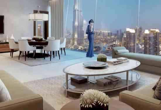 Luxury Property Dubai 4 Bedroom Penthouse for sale in Burj Vista Downtown Dubai3