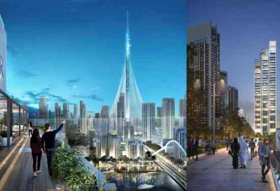 Luxury Property Dubai 3 Bedroom Apartment for sale in Harbour Gate Dubai Creek Harbour1