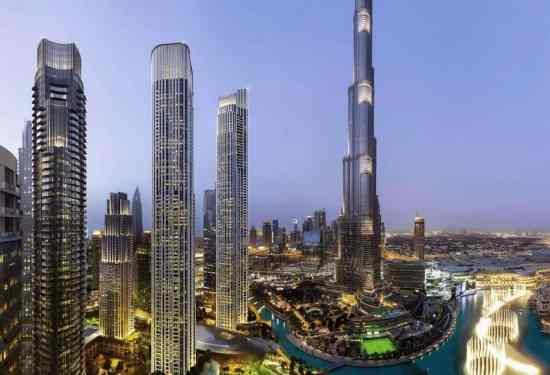 Luxury Property Dubai 4 Bedroom Penthouse for sale in IL Primo Downtown Dubai1