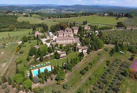 Luxury Property Italy  32 Bedroom Villa for sale in Borgo Bio Siena1