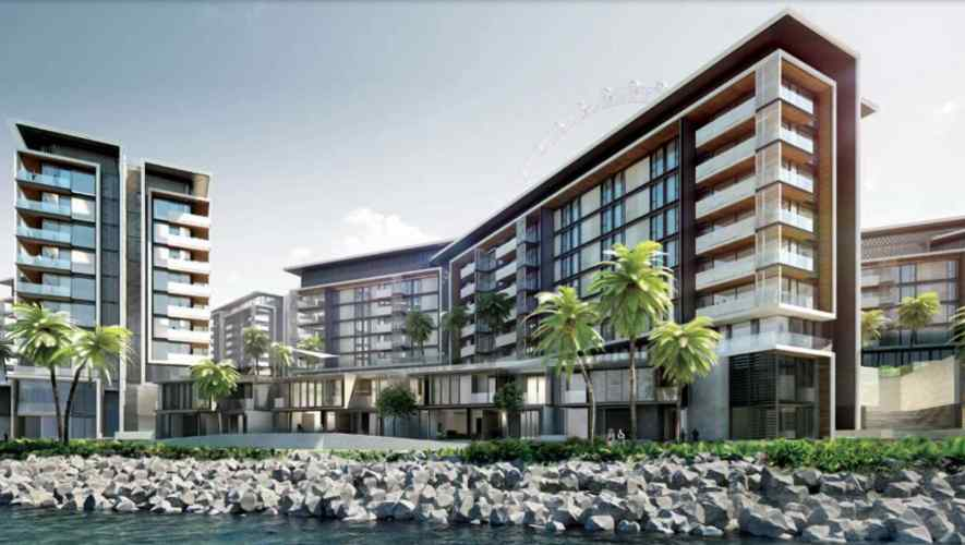 Luxurious Waterfront Living at Bluewaters Island