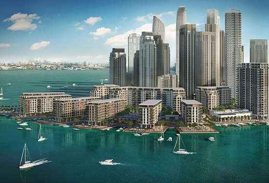 Classic Waterfront Living at The Cove, Dubai Creek