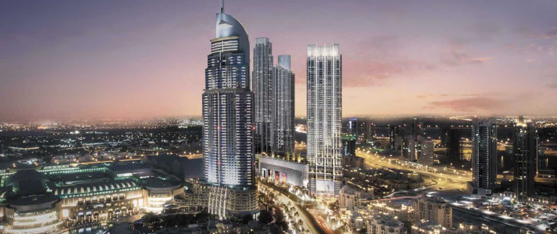 Luxury Property Dubai 3 Bedroom Apartment for sale in Boulevard Point Downtown Dubai