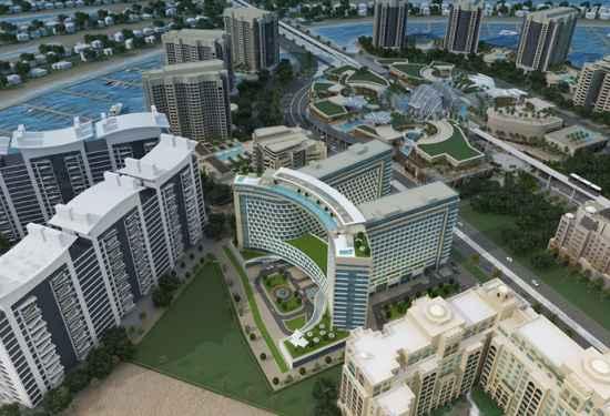 Marina-Facing Apartment at Seven Palm1