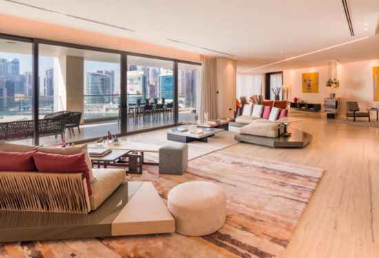 Exquisite Five-Bedroom Penthouse At Volante Tower2