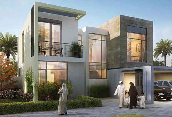 Mesmeric Four-Bedroom Villa in Golf Links, Dubai South 1
