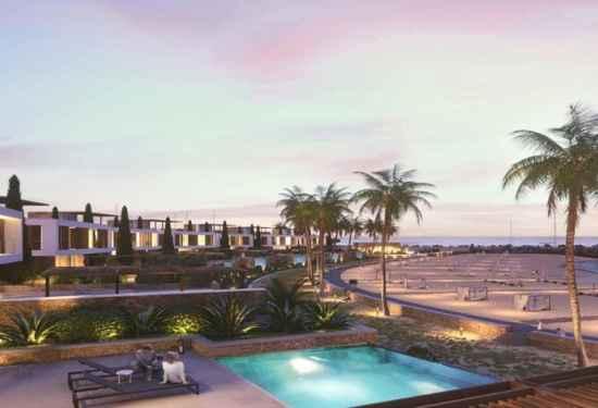 Modern Beachfront Villa Off The Cyprus Coast