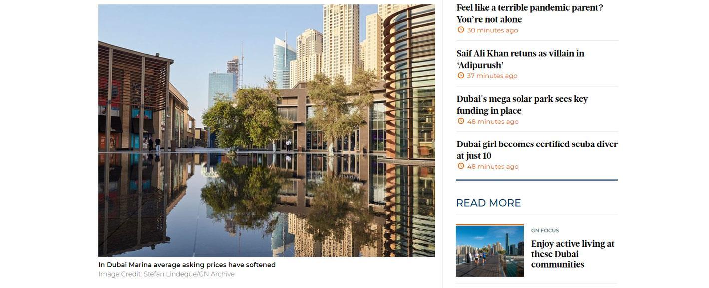Dubai's beachfront communities 4