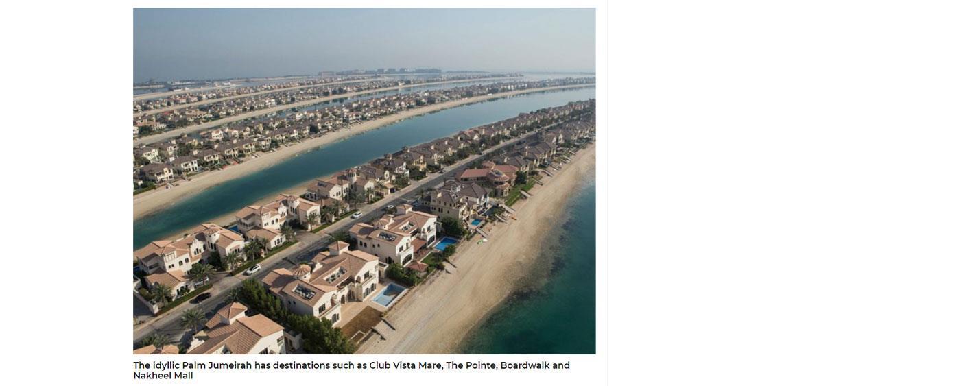 Dubai's beachfront communities 6