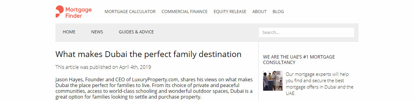 What makes Dubai the perfect family destination