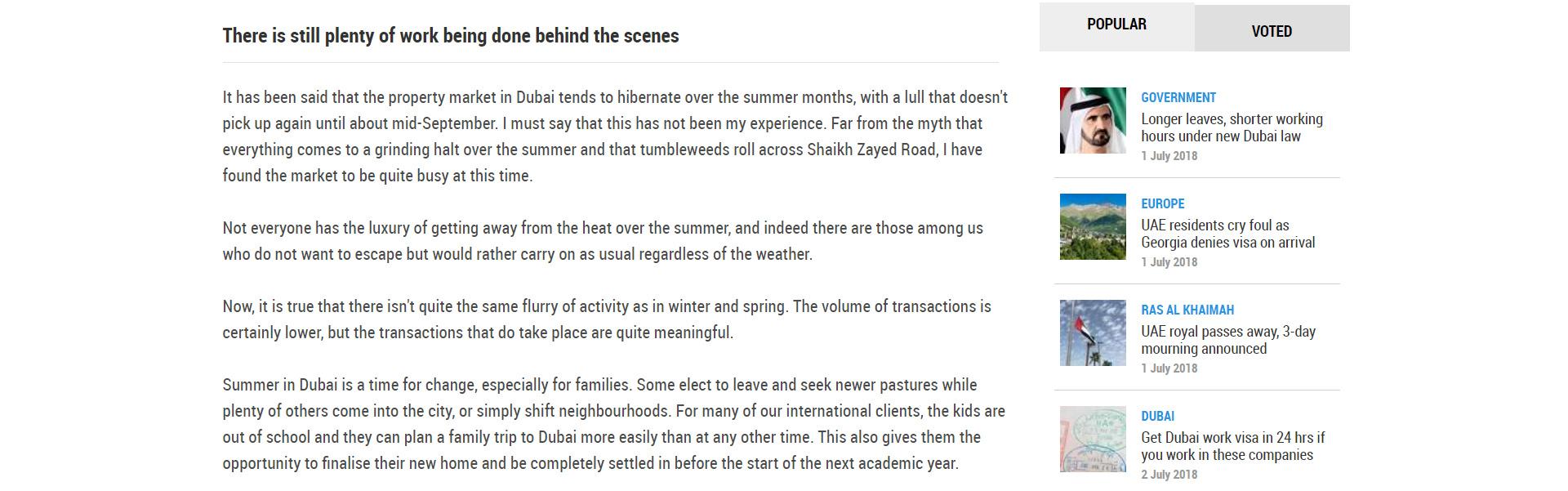 Dubai property market - 3