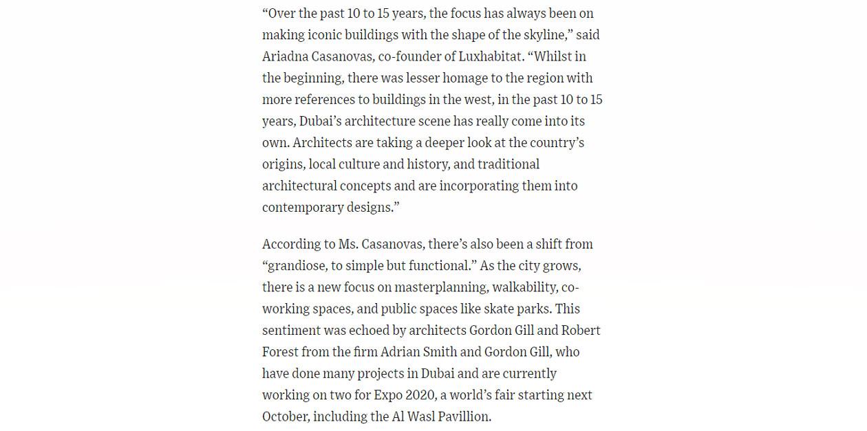 An Architecture Tour of Dubai's Design Marvel