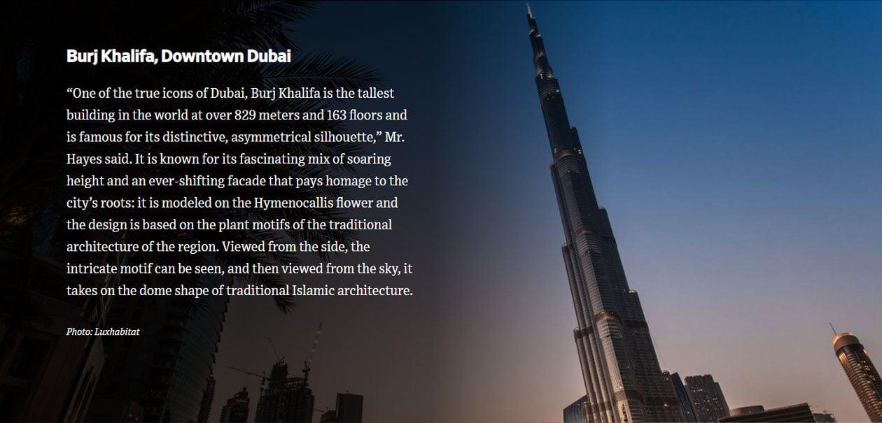 An Architecture Tour of Dubai's Design MaAn Architecture Tour of Dubai's Design Marvelrvel