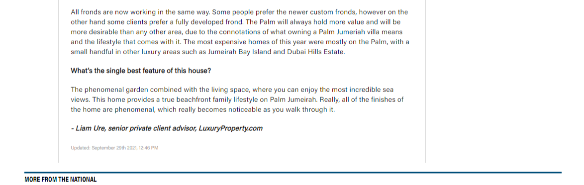 Dh35m Palm Jumeirah villa is a renovation masterpiece