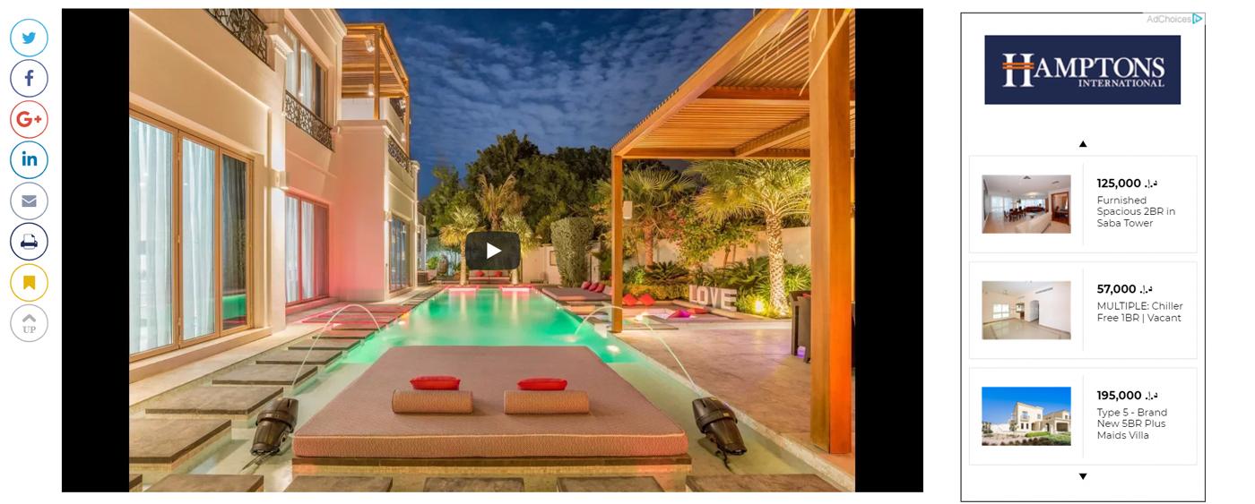 Dh30m Dubai villa - 5