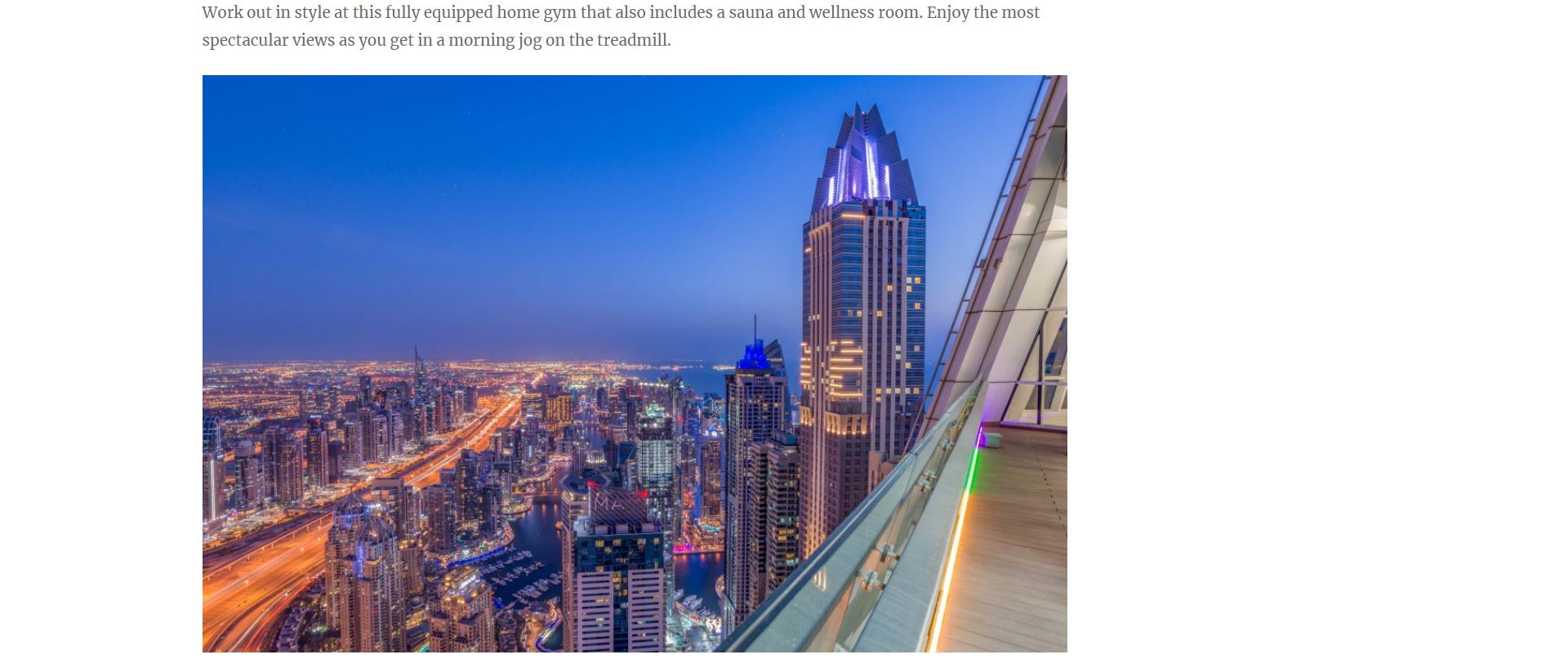 Dubai Marina Penthouse - 1