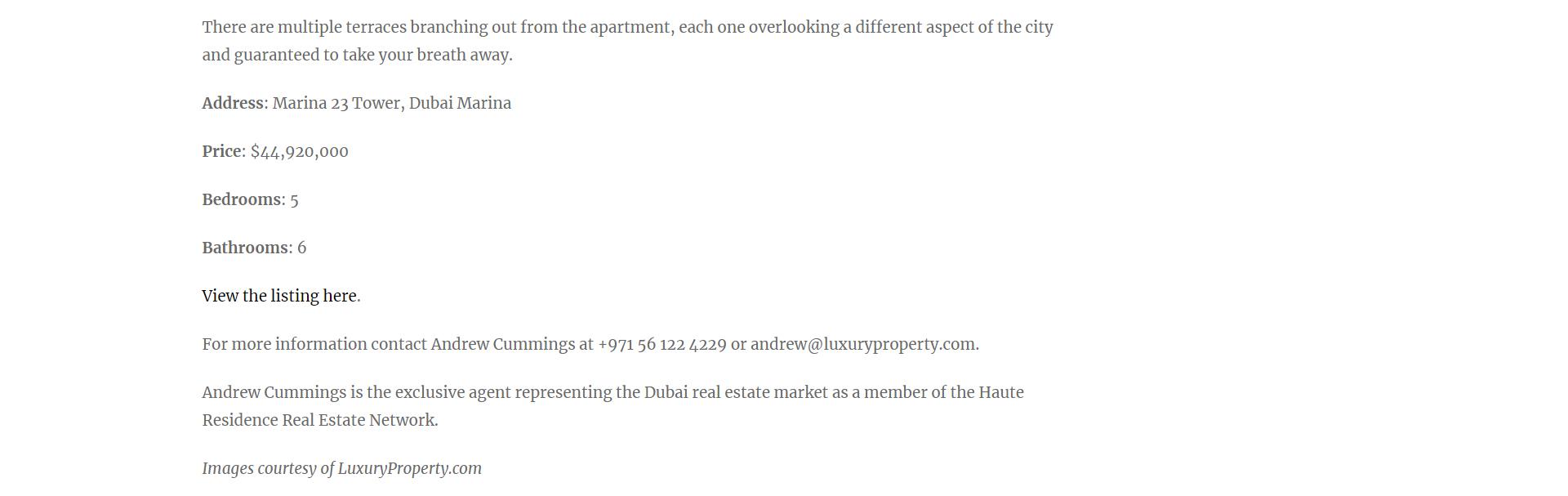 Dubai Marina Penthouse - 12