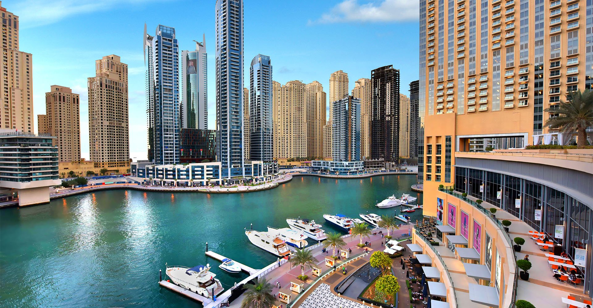 Dubai Marina Yacth Club
