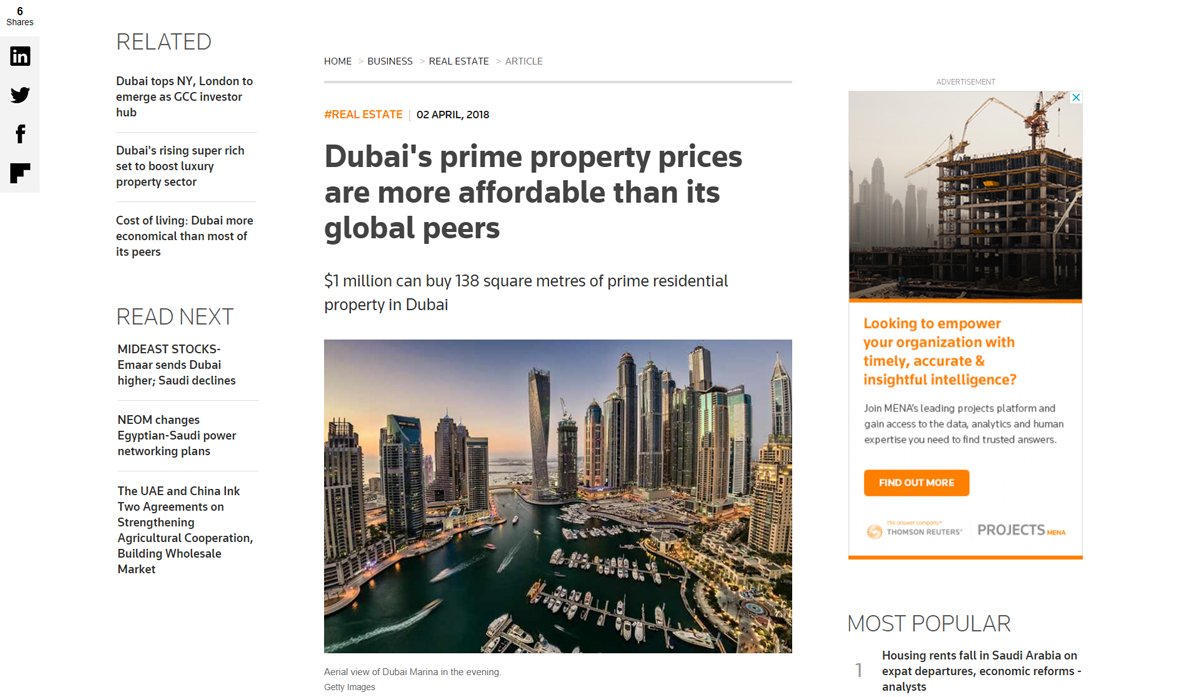Dubai's prime property prices 02