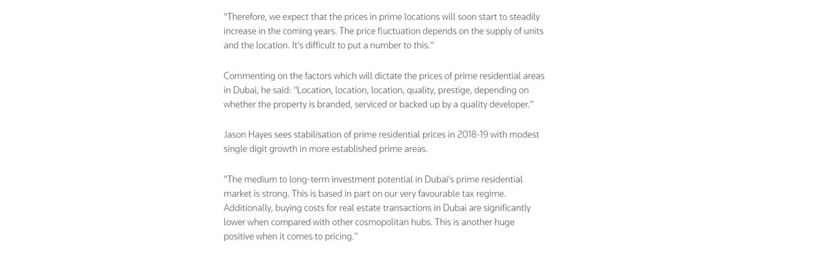 Dubai's prime property prices 07