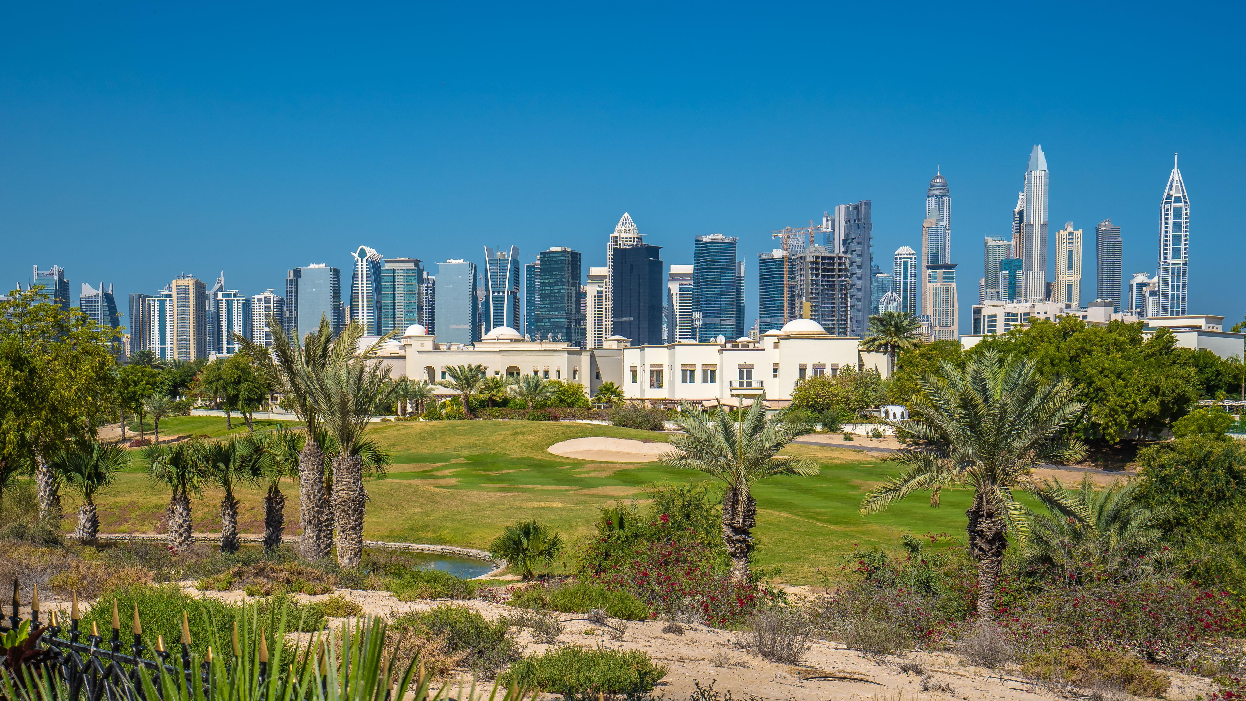 Jumeirah Lakes Towers Views