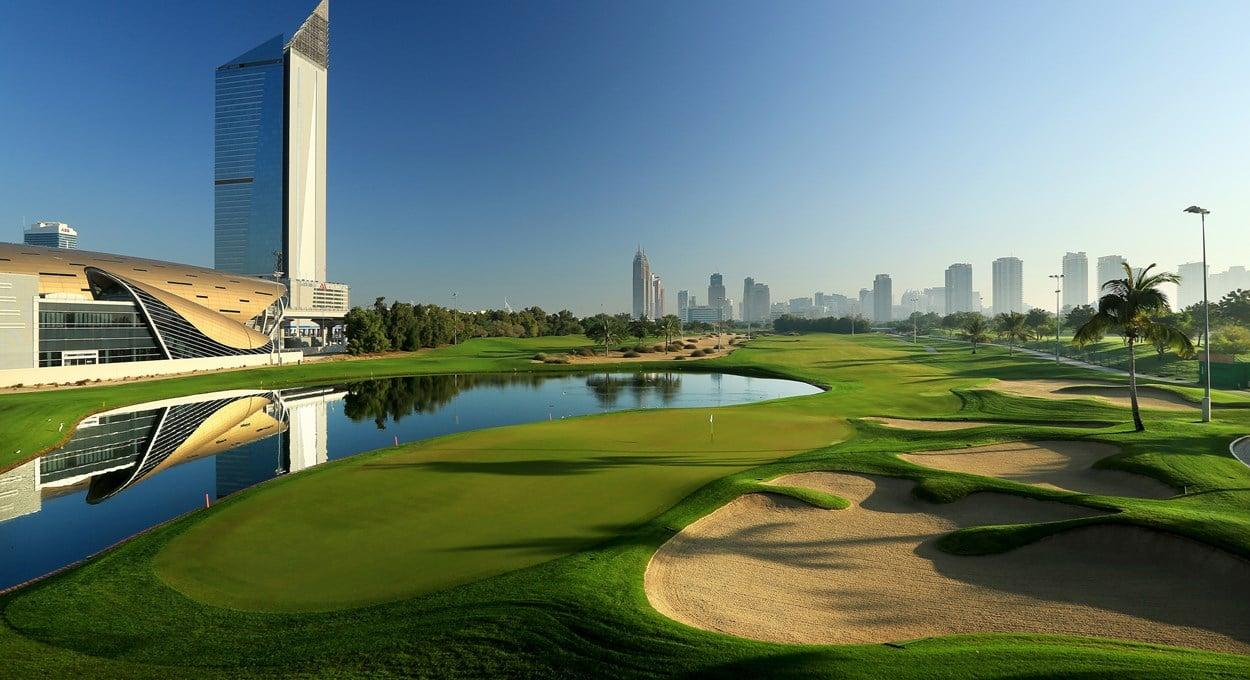Emirates Hills Dubai Golf Course