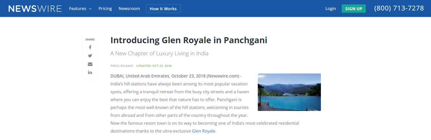 Glen Royale in Panchgani - 1