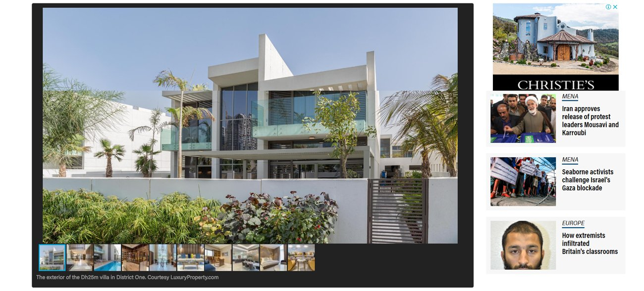 Dh25 million villa in Mohammed bin Rashid City