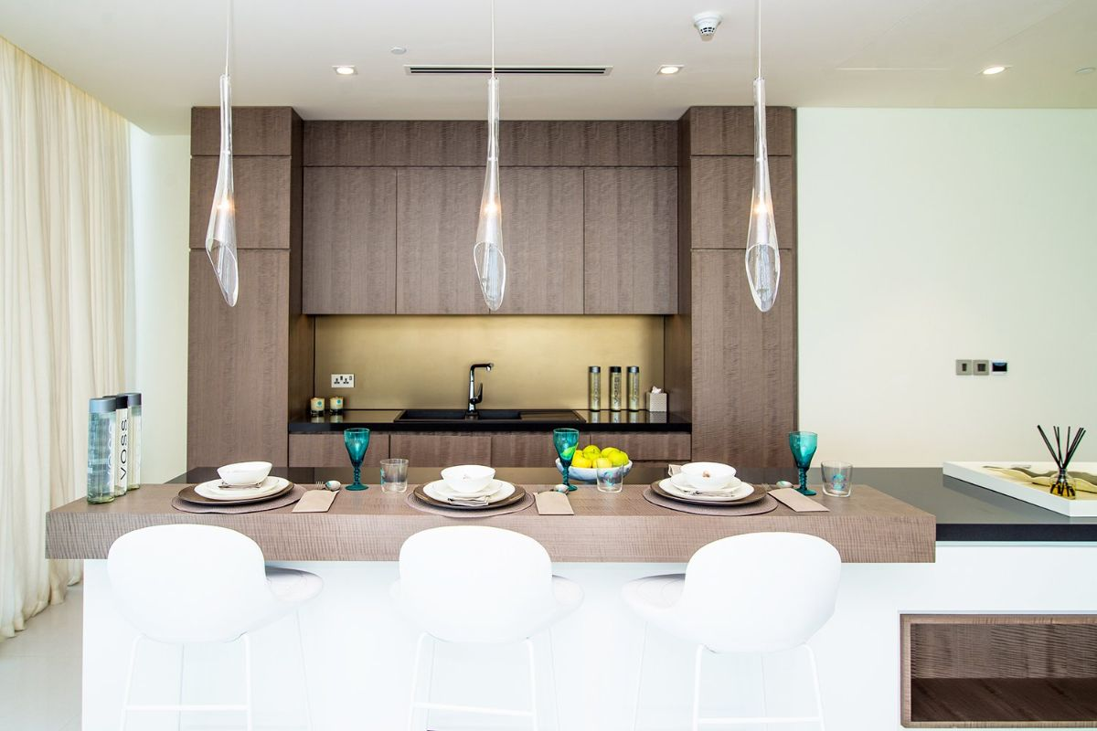 Kitchen in Serenia Residences