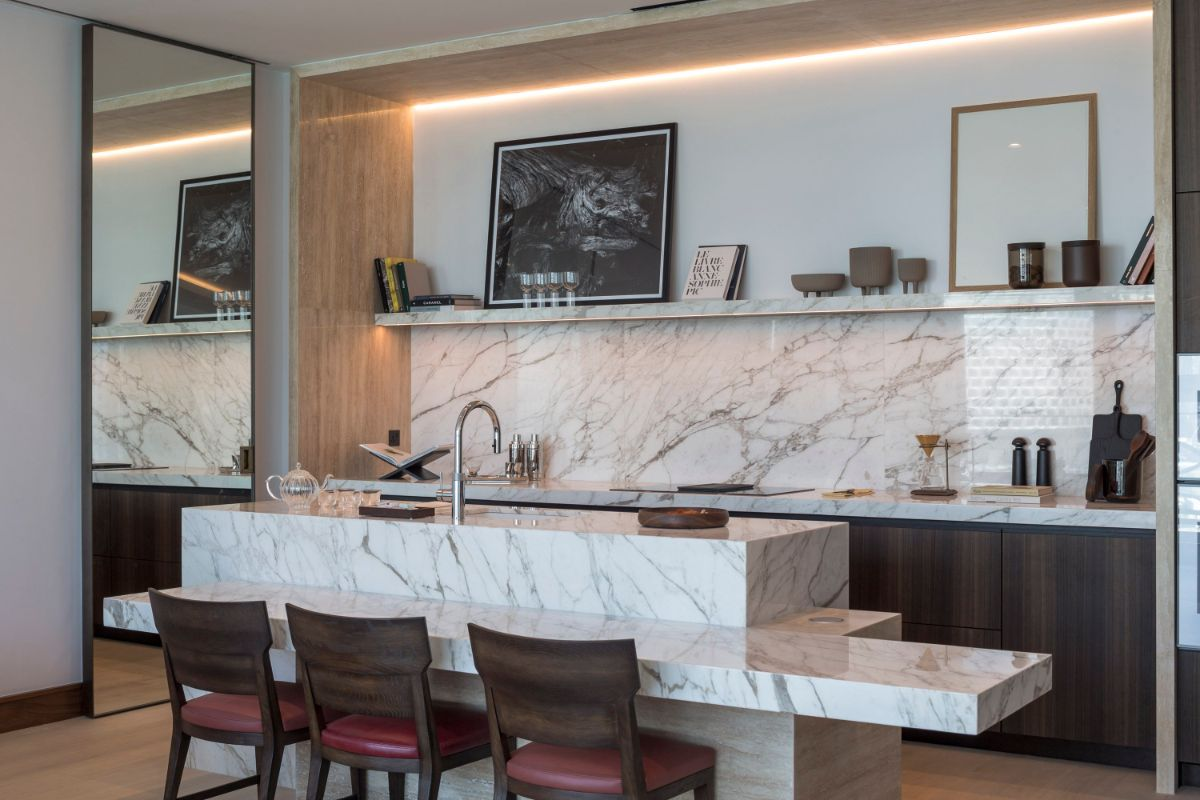 Kitchen in The Dorchester Collection