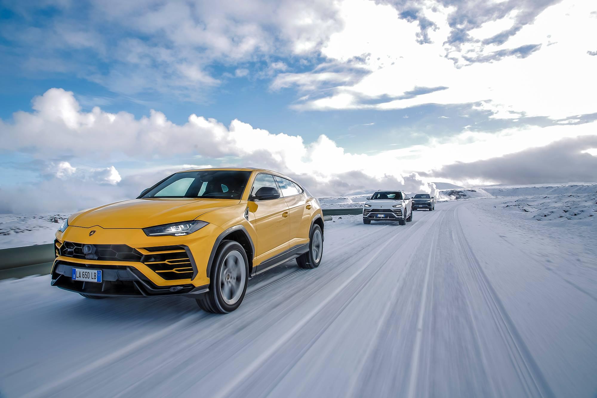 Lamborghini Urus Sturdiness and Speed