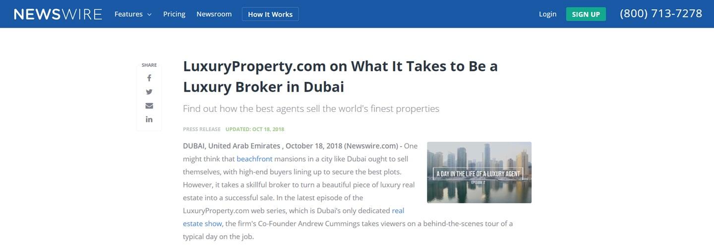 Luxury Broker in Dubai - 1