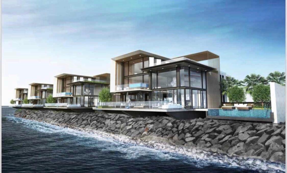 Marsa Al Arab villas
