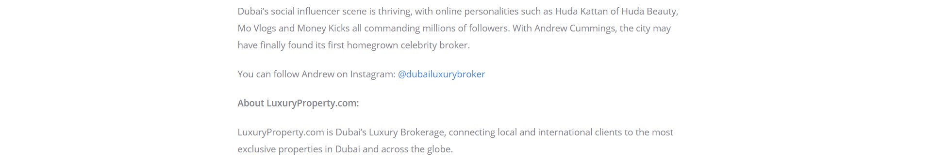 Newswire - Luxury  Agent Day Dubai 4